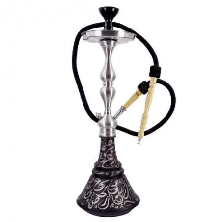 Vodná fajka Aladin Roy 30, 65 cm - Čierna