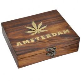 Drevená truhlica Amsterdam BOX - Veľký 17x14
