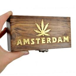 Drevená truhlica Amsterdam BOX - Malý 15x8