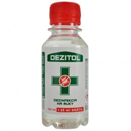 Dezinfekcia na ruky Dezitol proti vírusom 100 + 25 ml