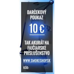 10€ darčekový poukaz