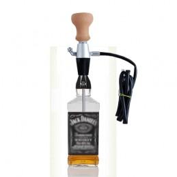 Vodná fajka LAVA v púzdre - prenosná (na fľašu)