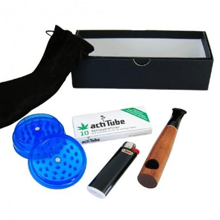 Sypuera Carbon pipe set - Mini fajka na uhlíkové filtre Actitube