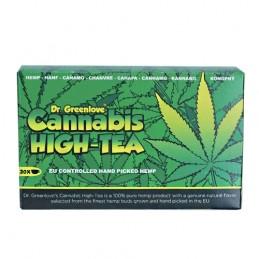 Konopný čaj: Cannabis High - Tea Dr. Greenlove