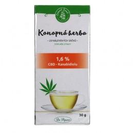 CBD Konopný čaj porciovaný 30 g