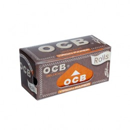 Cigaretové papieriky OCB Slim Virgin Rolls 4 m