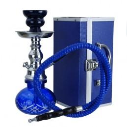 Vodná fajka mini Blue + box