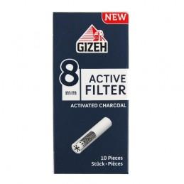 Cigaretové filtre s aktívnym uhlím GIZEH 8 mm
