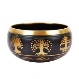 Tibetská miska liatinová ormanent  Gold - M