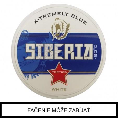Žuvací Tabak Siberia Blue White Extra strong - 80 Degrees 13g