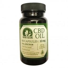 CBD kapsule - CBD Olej Kapsule Sensi Seeds 10 mg / 60 ks