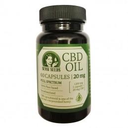CBD Capsules Sensi Seeds 20 mg / 60 caps