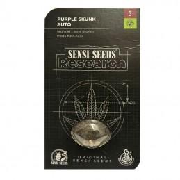 Sensi Purple Skunk Automatic (3 semienka) - Semená marihuany Sensi Seeds Research