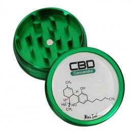 Grinder drtička CBD vzorec od Black Leaf 2 dielna