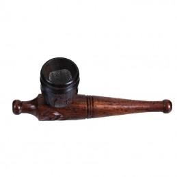 Mini fajka vyrezavaba Šlukovka drevo 10 cm  9383