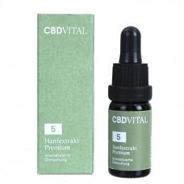 CBD Aroma olej CBD Vital Premium 5% 10ml