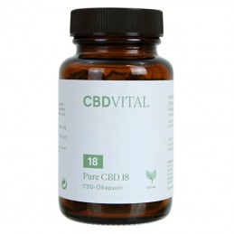 CBD Vital PURE CBD 18 (10%) kapsle