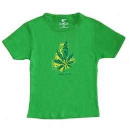 Dámske tričko Natural High - veľkosť S