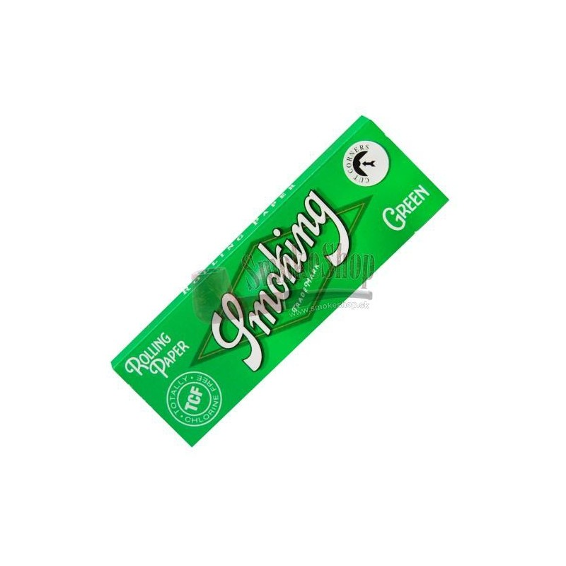 Papieriky SMOKING Green cutkorners