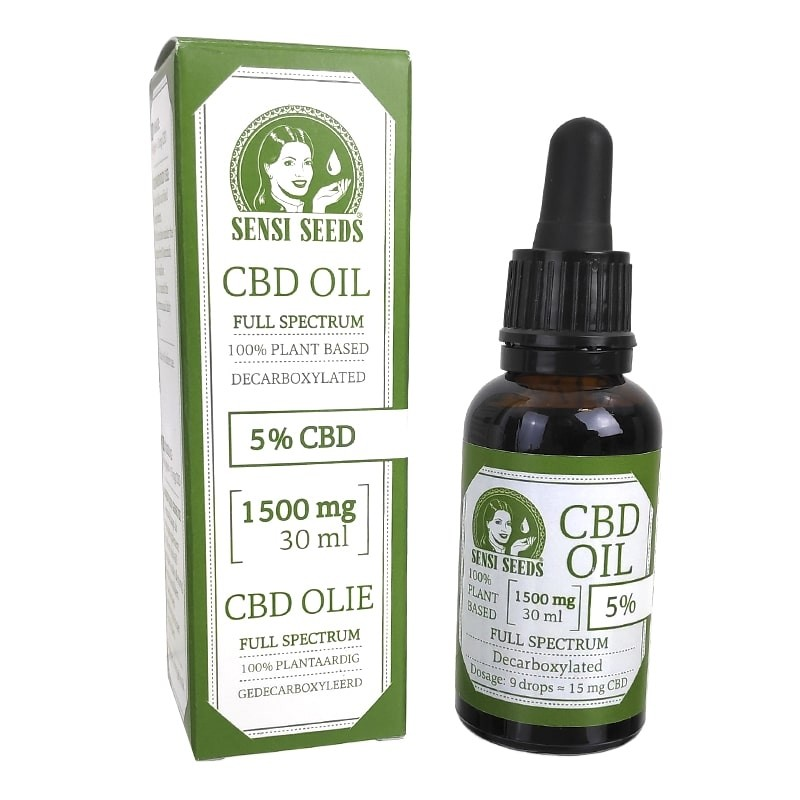 CBD Olej Sensi Seeds 30 ml 5 %