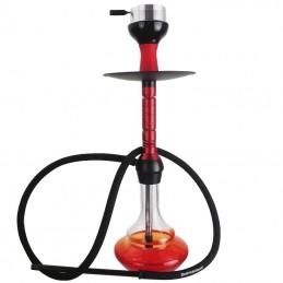 Vodná fajka Kaya ELOX Bullseye 62 cm - červená