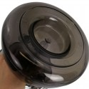 Vodná fajka Aladin Outdoor Shisha 27cm - čierna