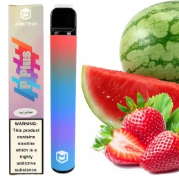 E-shisha Puff Ice - elektronická vodná fajka - Jahoda Melón