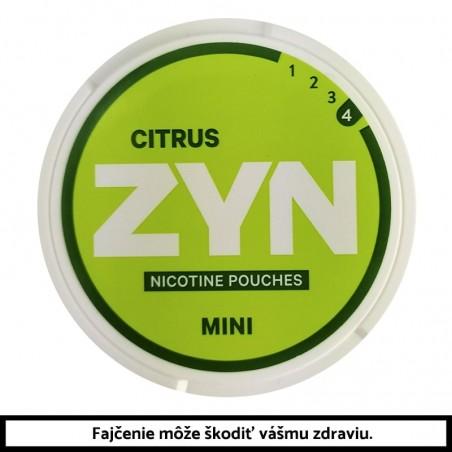 ZYN Citrus Mini 8g (6mg) Nikotínové vrecúška