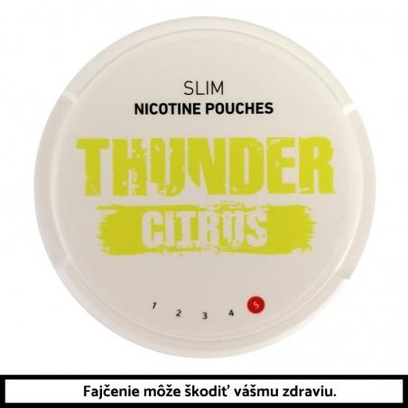 THUNDER Citrus Slim 16,8g Nikotínové vrecúška