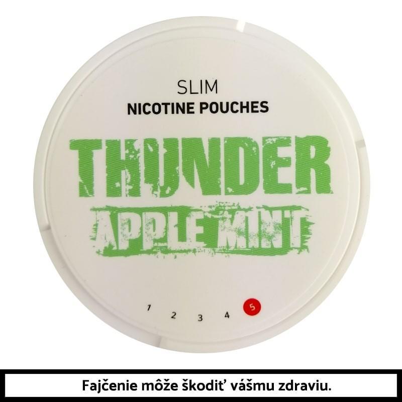 THUNDER Apple Mint Slim 16,8g Nikotínové vrecúška