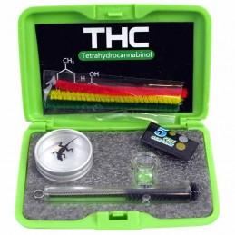 Gift set THC mini - Darčekový set: sklenená šlukovka, dreambox a sitká