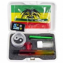 Gift set Breit mini - Darčekový set: šlukovka, dreambox, snuffka a flakón