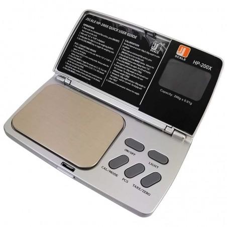 Mikrováha Jennings HP-200X 200g, 0,01g + 2krát 100g závažie