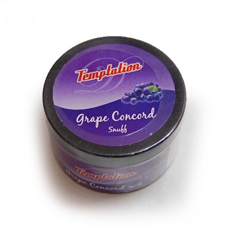 Šnupací tabak Temptation - Grape concord 25g
