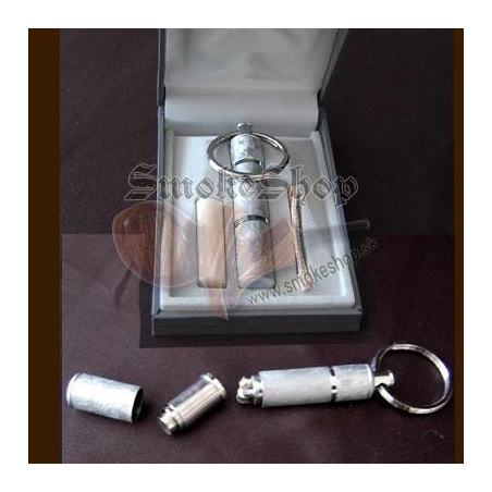 Zapaľovač klúčenka - silver