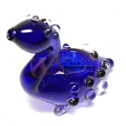 Šlukovka pyrex - sklenená fajka labuť