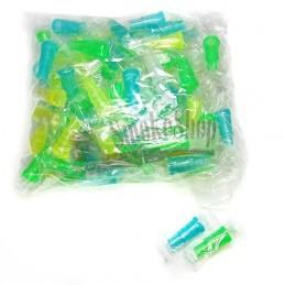 Náustok na vodnú fajku Neon (Navliekací) 100ks