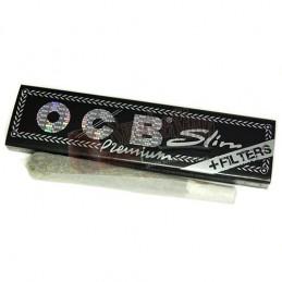 OCB King Size Slim Premium s filtrami - cigaretové papieriky