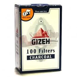 Cigaretové filtre Gizeh uhlíkové 100 ks