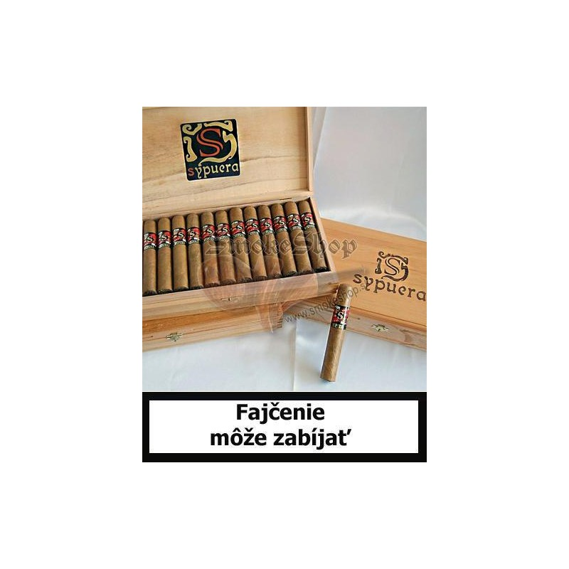 Honduraské cigary Sypuera  King´s selection - robusto