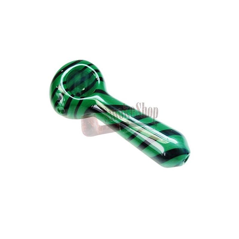 Šlukovka pyrex Green - black