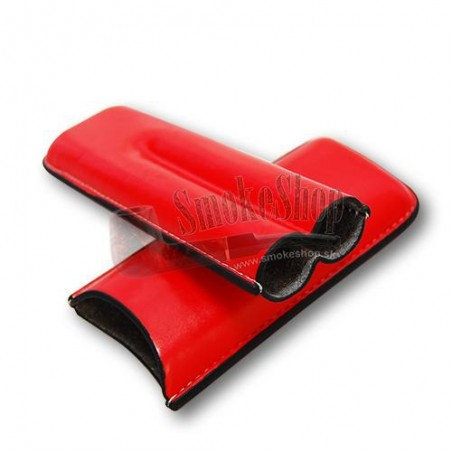 Púzdro na cigary Color - červené