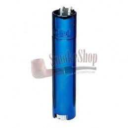 Zapalovač CLIPPER lux metal blue