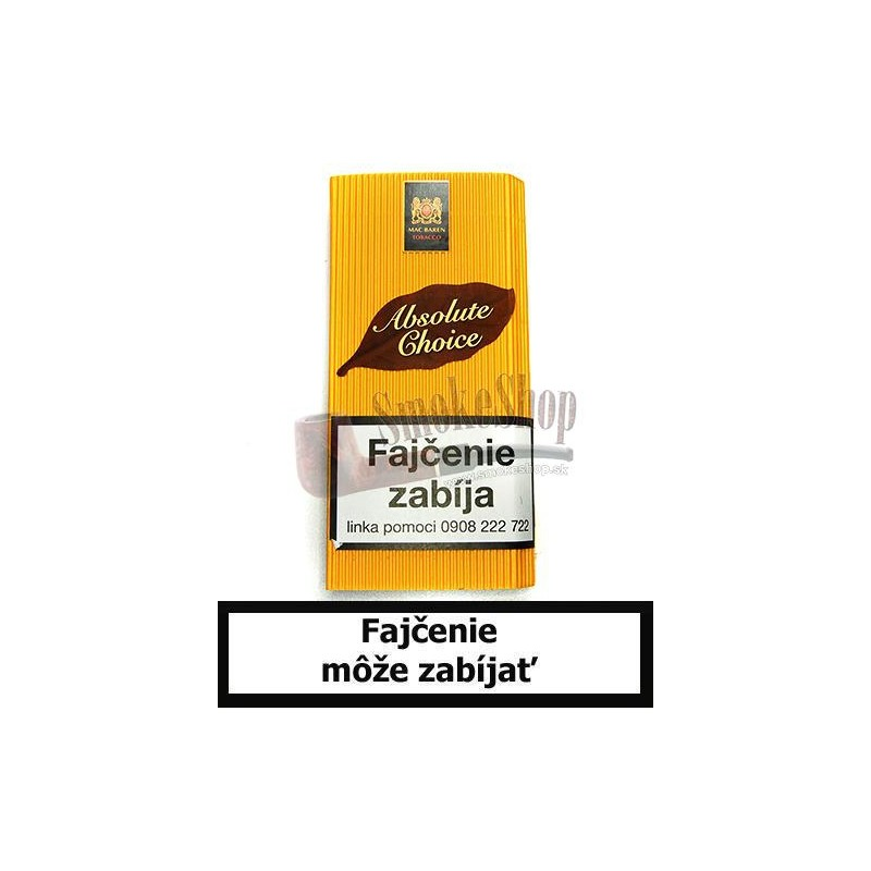 Fajkový tabak Mac Baren Absolute Choice 40g