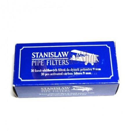 Fajkový filter 9mm Stanislaw 30ks