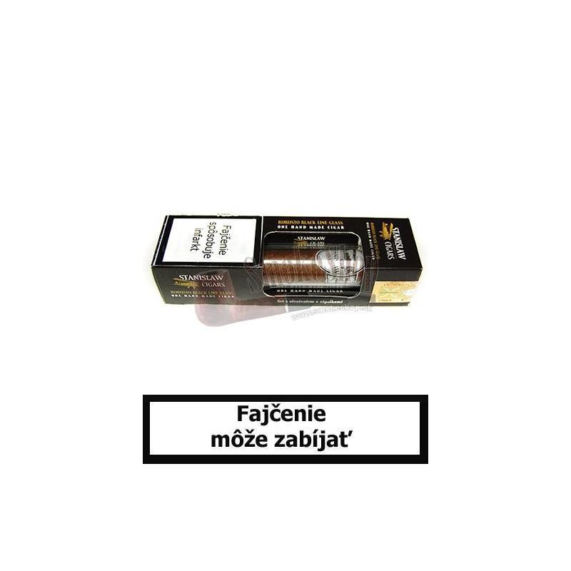 Cigara Stanislaw Robusto Black Line Soare Glass Set