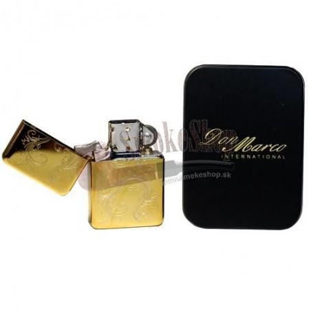 Zapaľovač Gold Lux