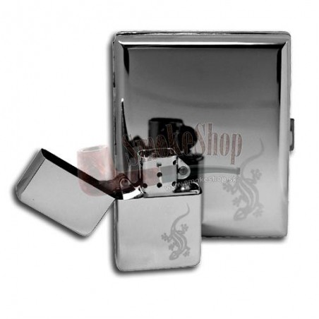 Púzdro na cigarety 100mm slim metal