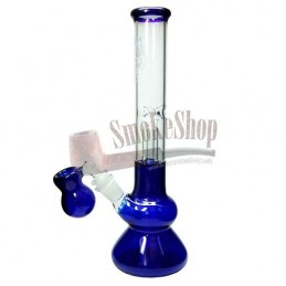 Bong sklo s precoolerom 23,5 cm - Blue