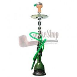 Vodná fajka AMY Sharqi - green 100cm